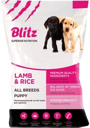 Blitz Puppy All Breeds Lamb/Rice фото