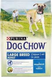 Dog Chow Adult Large Breed Turkey фото